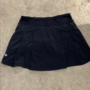 "Lululemon skirt 4 Tall 13"" length"